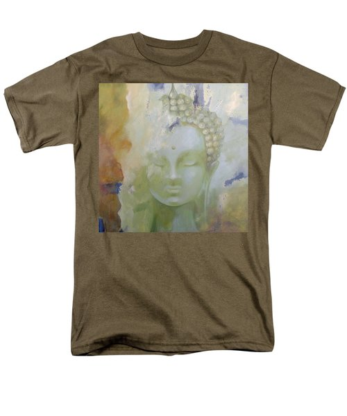 Men's T-Shirt  (Regular Fit) featuring the painting Sage Buddha by Dina Dargo
