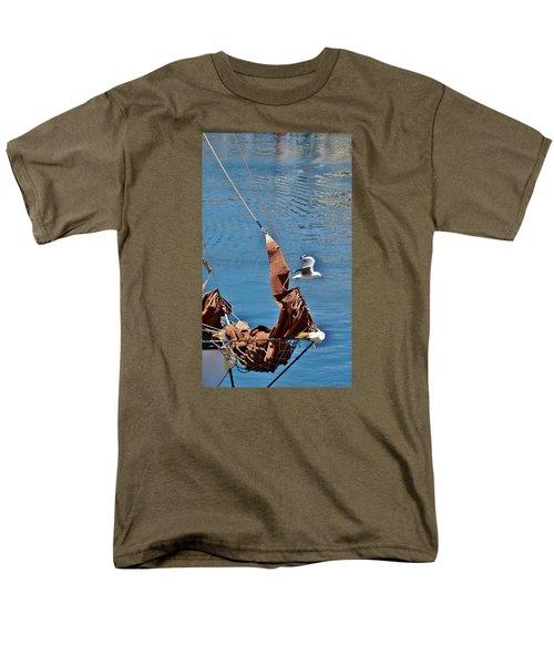 Sail Boat Men's T-Shirt  (Regular Fit) by Werner Lehmann