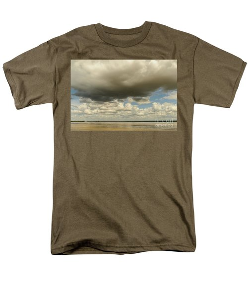 Men's T-Shirt  (Regular Fit) featuring the photograph Sailing The Irrawaddy by Werner Padarin