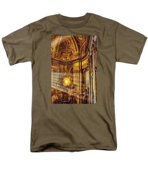 Men's T-Shirt  (Regular Fit) featuring the photograph Saint Peter's Chair by Trey Foerster