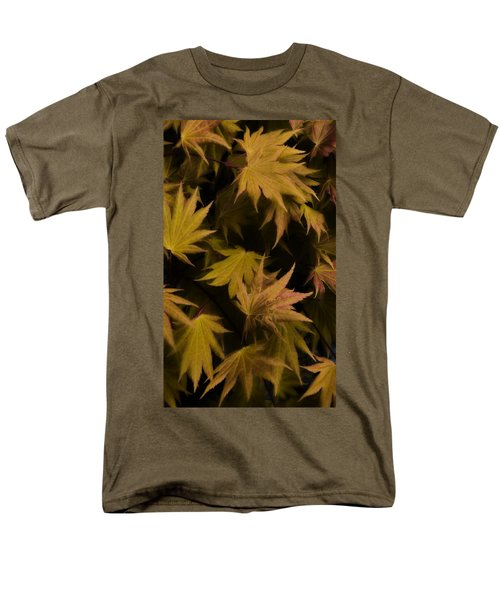 Japanese Autumn  Men's T-Shirt  (Regular Fit) by Mike Nellums