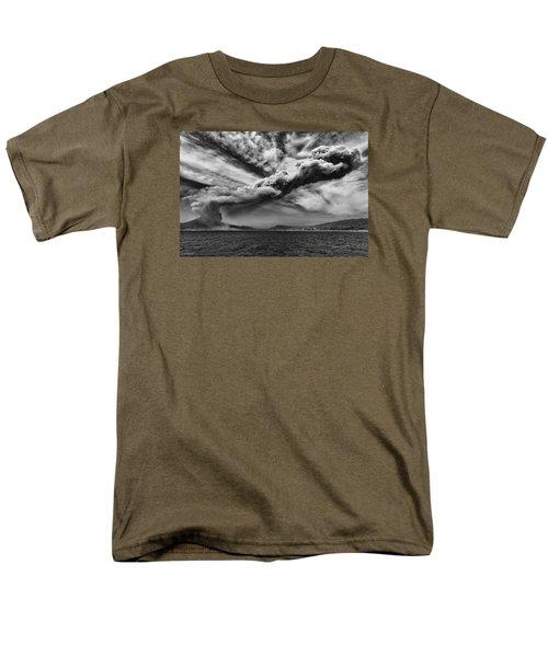 Sakurajima Volcano Men's T-Shirt  (Regular Fit) by Hayato Matsumoto