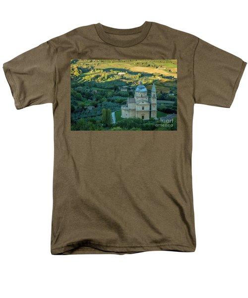 Men's T-Shirt  (Regular Fit) featuring the photograph San Biagio Church by Brian Jannsen