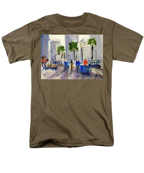 San Francisco Embarcadero Men's T-Shirt  (Regular Fit) by Tom Simmons
