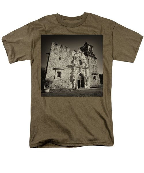 Men's T-Shirt  (Regular Fit) featuring the photograph San Jose Mission - San Antonio by Stephen Stookey