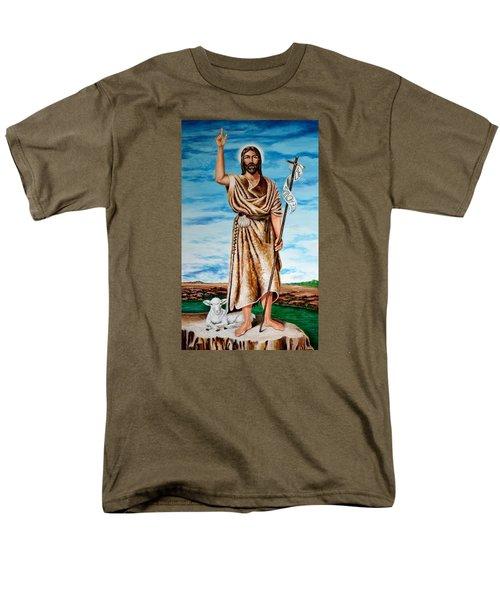 San Juan Bautista Men's T-Shirt  (Regular Fit) by Edgar Torres