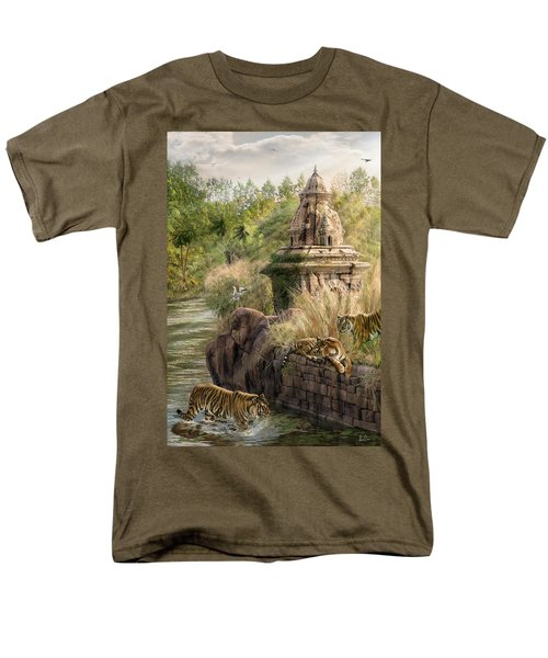 Sanctuary Men's T-Shirt  (Regular Fit) by Don Olea