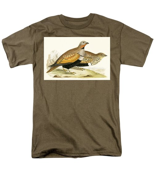 Sand Grouse Men's T-Shirt  (Regular Fit) by English School