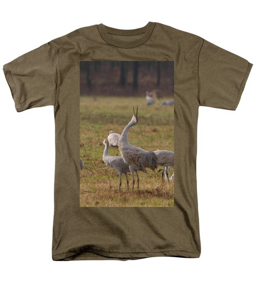 Men's T-Shirt  (Regular Fit) featuring the photograph Sandhill Delight by Shari Jardina