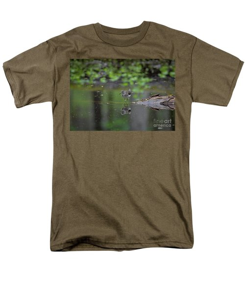 Sandpiper In The Smokies Men's T-Shirt  (Regular Fit) by Douglas Stucky