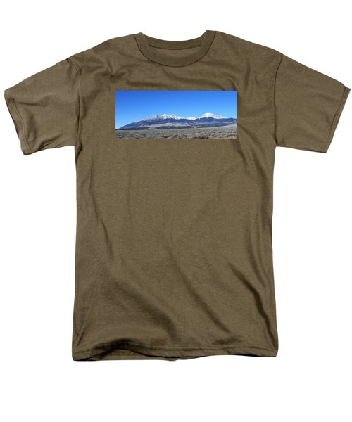 Sangre De Cristo Range Men's T-Shirt  (Regular Fit) by Christopher Kirby