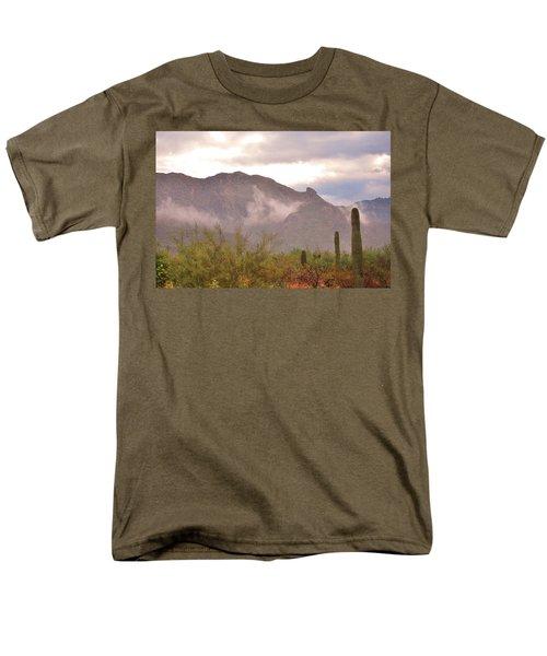 Santa Catalina Mountains II Men's T-Shirt  (Regular Fit) by Donna Greene