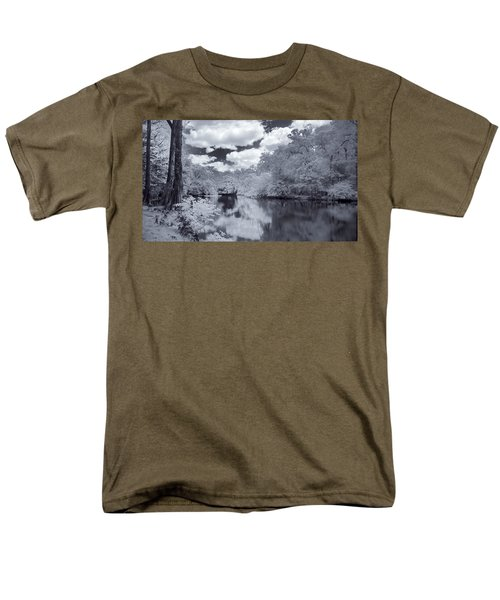 Men's T-Shirt  (Regular Fit) featuring the photograph Santa Fe River Reflections by Louis Ferreira
