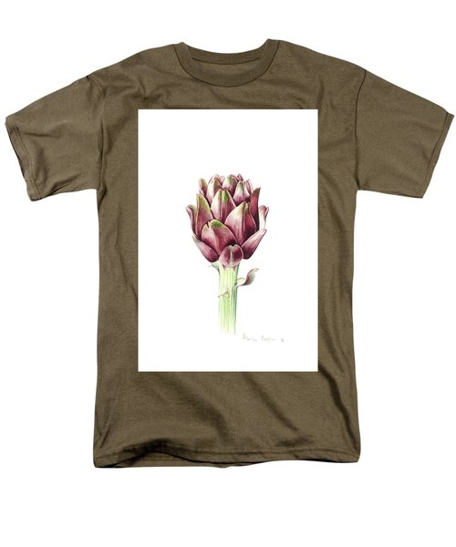 Sardinian Artichoke Men's T-Shirt  (Regular Fit) by Alison Cooper