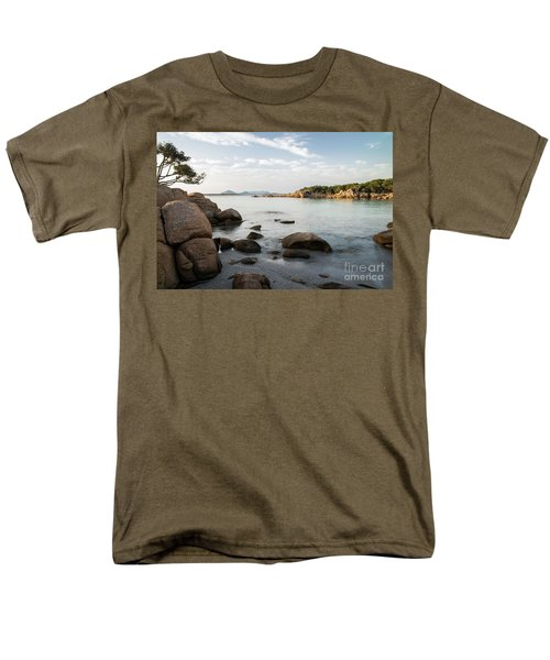 Men's T-Shirt  (Regular Fit) featuring the photograph Sardinian Coast by Yuri Santin