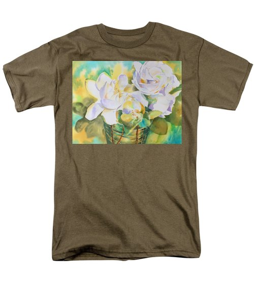 Scent Of Gardenias  Men's T-Shirt  (Regular Fit) by Tara Moorman