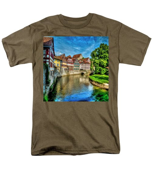 Men's T-Shirt  (Regular Fit) featuring the photograph Schwabish Hall by David Morefield