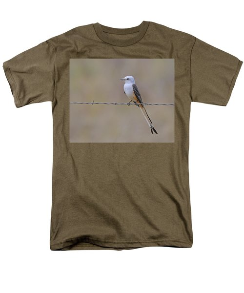Scissor-tailed Flycatcher Men's T-Shirt  (Regular Fit) by Tony Beck