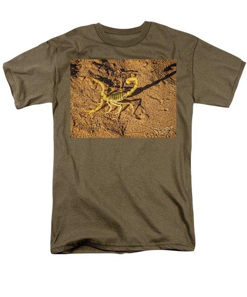 Scorpion Men's T-Shirt  (Regular Fit) by Robert Bales