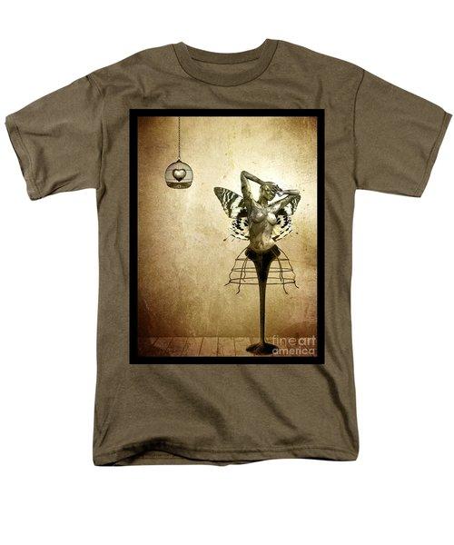 Scream Of A Butterfly Men's T-Shirt  (Regular Fit) by Jacky Gerritsen