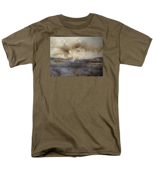 Men's T-Shirt  (Regular Fit) featuring the painting Sea Breeze by Tamara Bettencourt