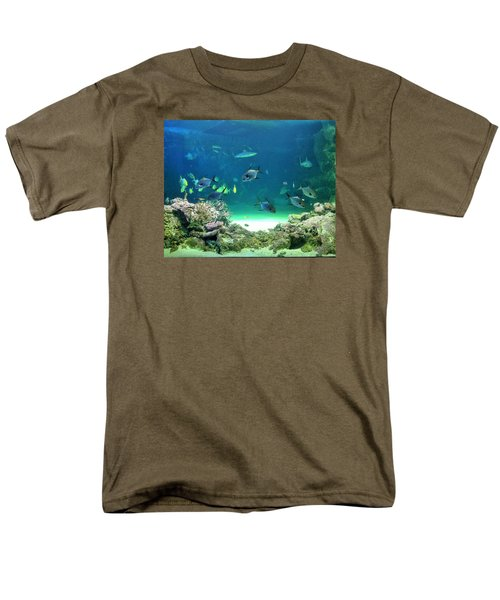Men's T-Shirt  (Regular Fit) featuring the photograph Sea Life by Kay Gilley