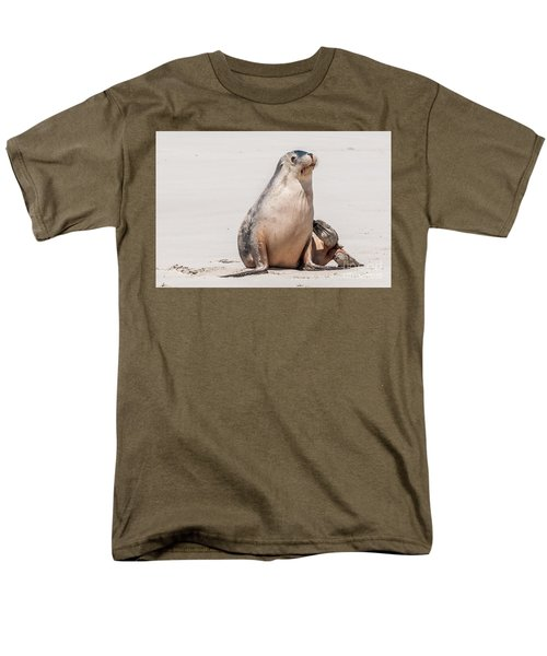 Sea Lion 1 Men's T-Shirt  (Regular Fit) by Werner Padarin