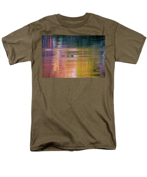 Men's T-Shirt  (Regular Fit) featuring the photograph Sea Of Color by Bill Wakeley