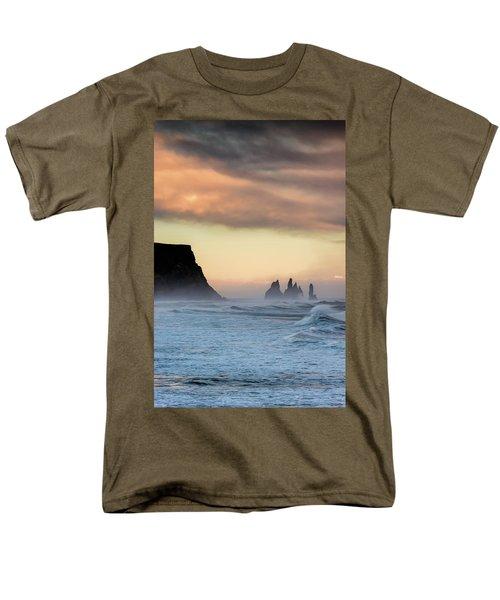 Sea Stacks Men's T-Shirt  (Regular Fit) by Allen Biedrzycki