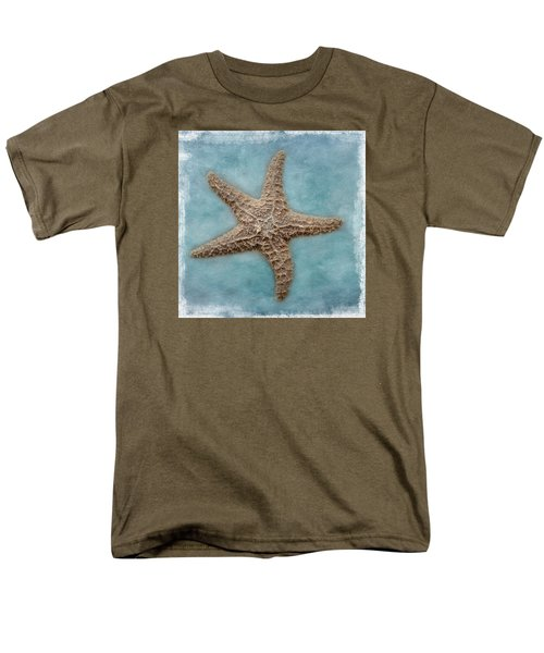 Sea Star Men's T-Shirt  (Regular Fit) by David and Carol Kelly