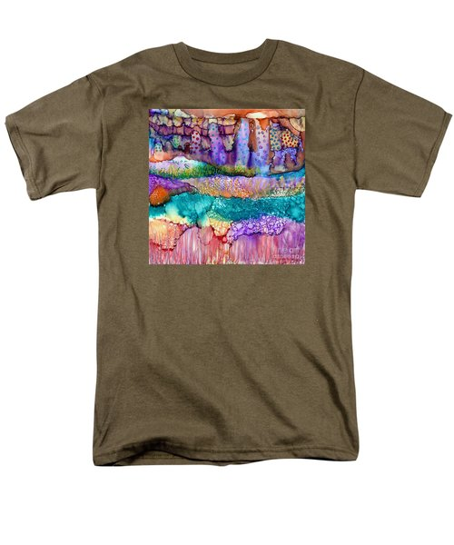 Sea Wall Men's T-Shirt  (Regular Fit) by Alene Sirott-Cope