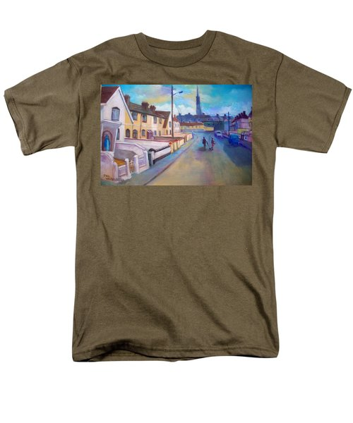 Sean Hueston Place Limerick Ireland Men's T-Shirt  (Regular Fit) by Paul Weerasekera