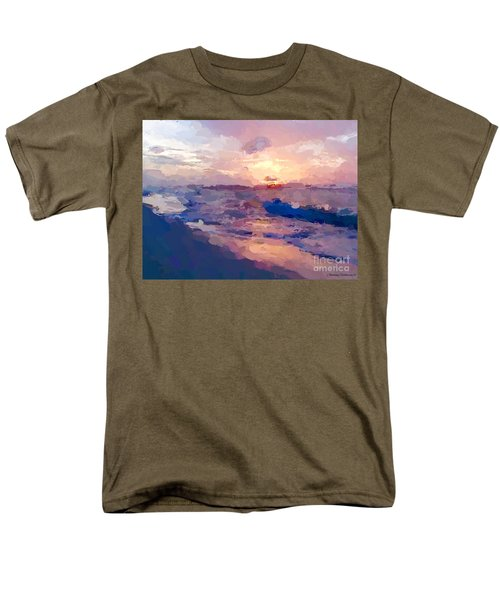 Seaside Swirl Men's T-Shirt  (Regular Fit) by Anthony Fishburne