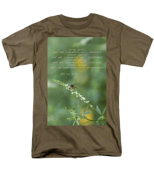 Seasons Men's T-Shirt  (Regular Fit) by Diane Giurco