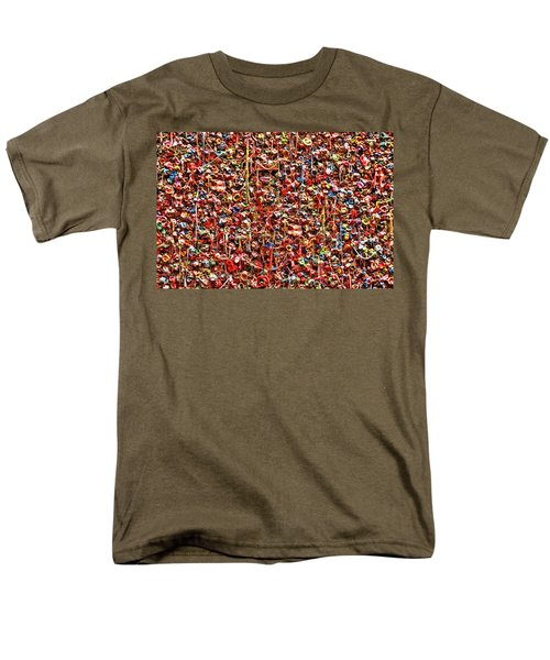 Seattle Gum Wall 2 Men's T-Shirt  (Regular Fit) by Allen Beatty