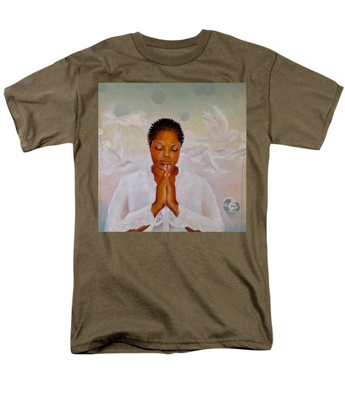 Men's T-Shirt  (Regular Fit) featuring the painting Secret Closet by Christopher Marion Thomas