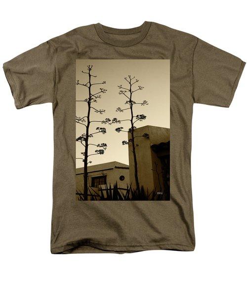 Sedona Series - Desert City Men's T-Shirt  (Regular Fit) by Ben and Raisa Gertsberg