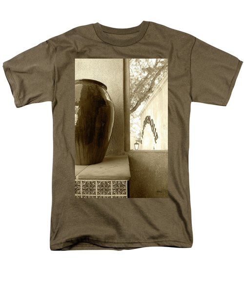 Men's T-Shirt  (Regular Fit) featuring the photograph Sedona Series - Jug And Window by Ben and Raisa Gertsberg