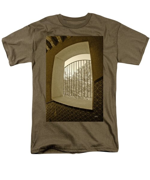 Sedona Series - Through The Window Men's T-Shirt  (Regular Fit) by Ben and Raisa Gertsberg