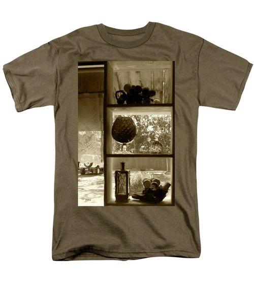 Sedona Series - Window Display Men's T-Shirt  (Regular Fit) by Ben and Raisa Gertsberg
