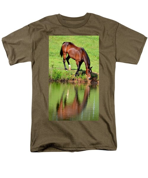 Seeing My Own Reflection Men's T-Shirt  (Regular Fit) by Maria Urso