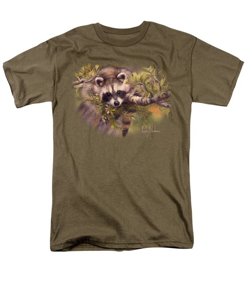 Seeking Mischief Men's T-Shirt  (Regular Fit) by Lucie Bilodeau