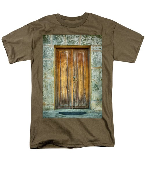 Men's T-Shirt  (Regular Fit) featuring the photograph Seeking Sanctuary - 1 by Stephen Stookey