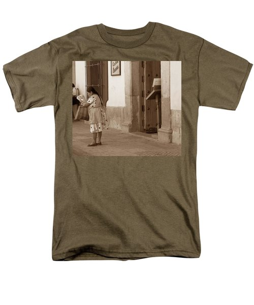 Men's T-Shirt  (Regular Fit) featuring the photograph Senora by Mary-Lee Sanders