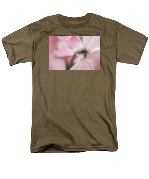 Sensuous Cyclamen Men's T-Shirt  (Regular Fit) by Mary Angelini