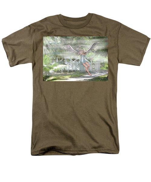 Sent From Heaven Men's T-Shirt  (Regular Fit) by Rosalie Scanlon