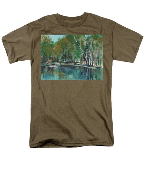 Serene Men's T-Shirt  (Regular Fit) by Lee Beuther