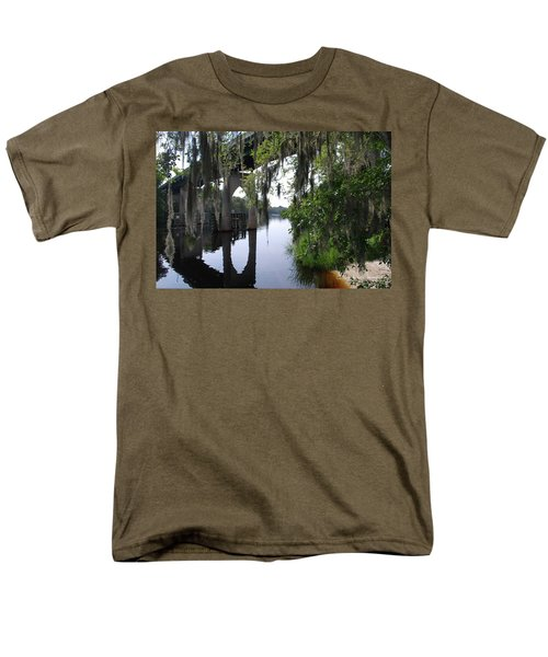 Serene River Men's T-Shirt  (Regular Fit) by Gordon Mooneyhan