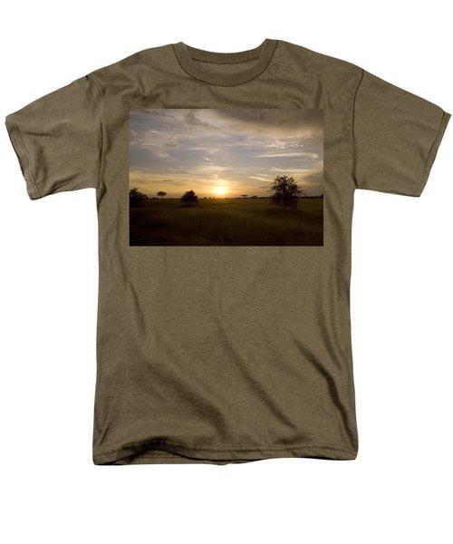 Serengeti Sunset Men's T-Shirt  (Regular Fit) by Patrick Kain