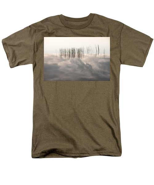 Serenity Dwells Here Where Tranquil Water Flow Cloaked  In Hues Of Love Men's T-Shirt  (Regular Fit) by Jenny Rainbow